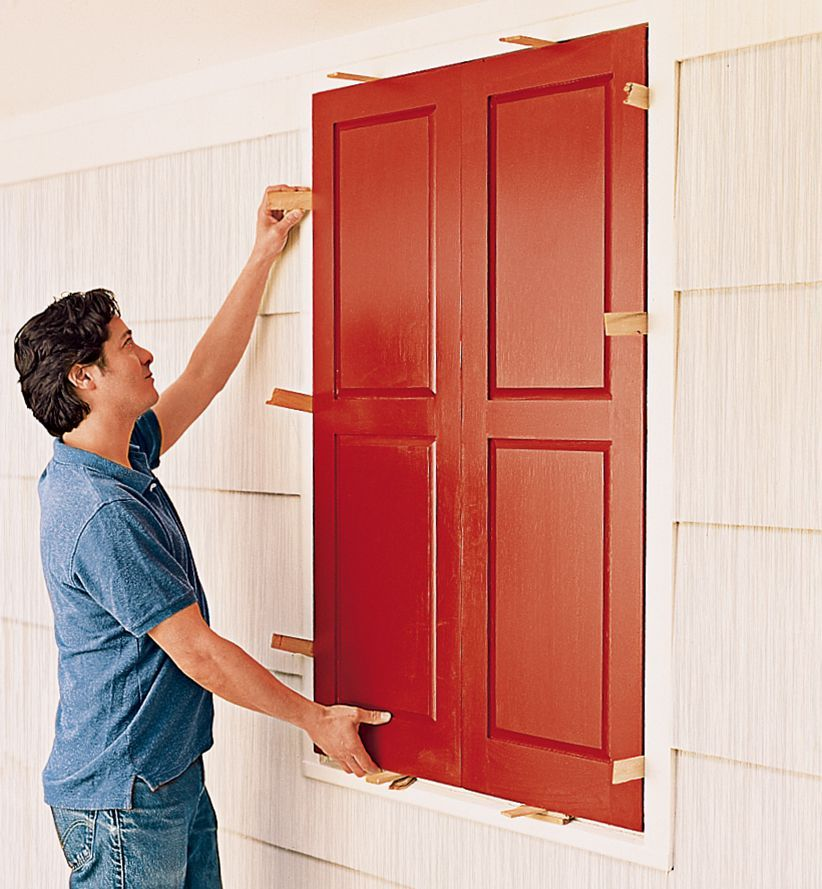 How to hang exterior shutters in 2020 shutters exterior