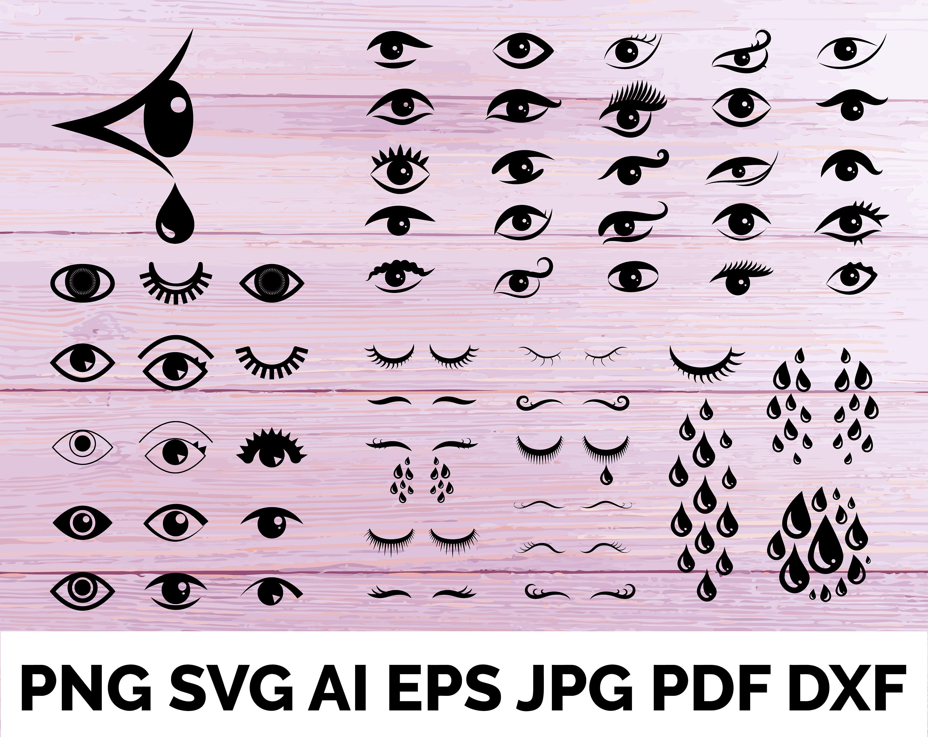 Blue Cry Cartoon Tears Icon Or Sweat Drops From Eyes Vector Etsy Icon Plant Logos Line Flower