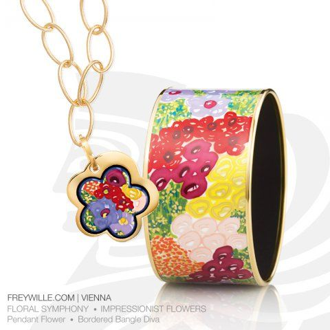 716e239766c6 FREYWILLE Floral Symphony - Impressionist Flowers. Inspired by leading  impressionist painters like Claude Monet or Pierre-Auguste Renoir.