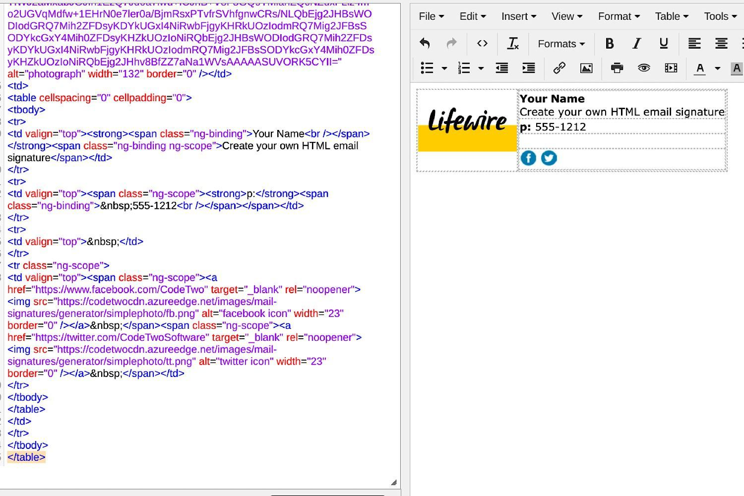 How to Create and Add an HTML Email Signature for Gmail