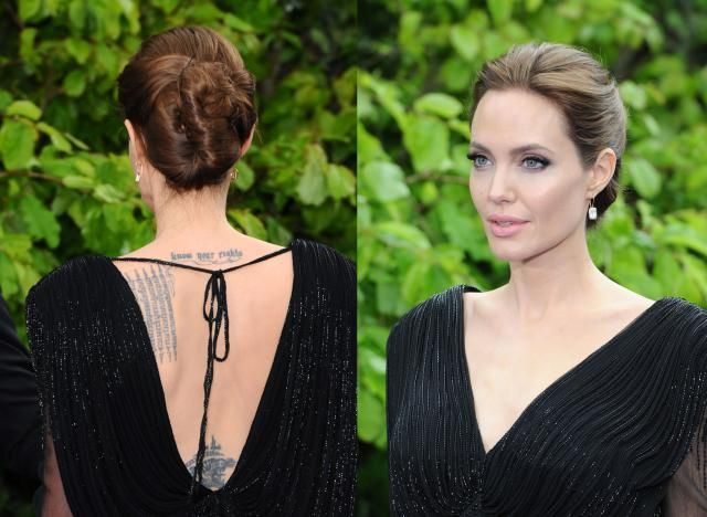 Angelina Jolie Hair Styles: 8 Celebrity Updos To Try Now