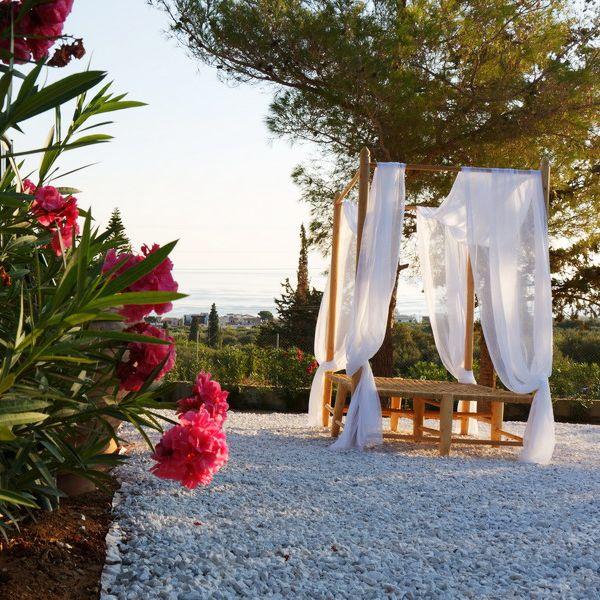 Villa Zoé im Dorf Koutouloufari, Kreta. Urlaub Reise
