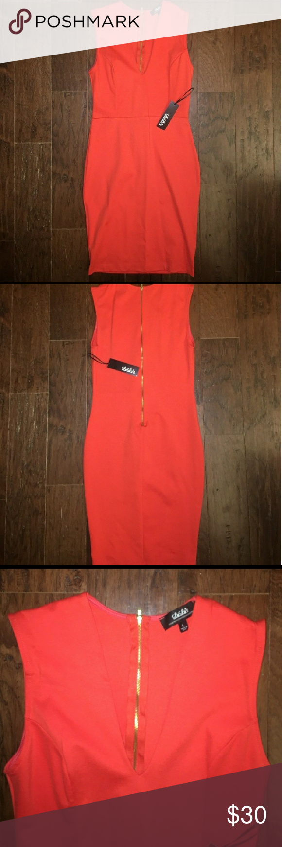 Lulu\'s Coral Cocktail Dress   Coral cocktail dress, Coral color and ...