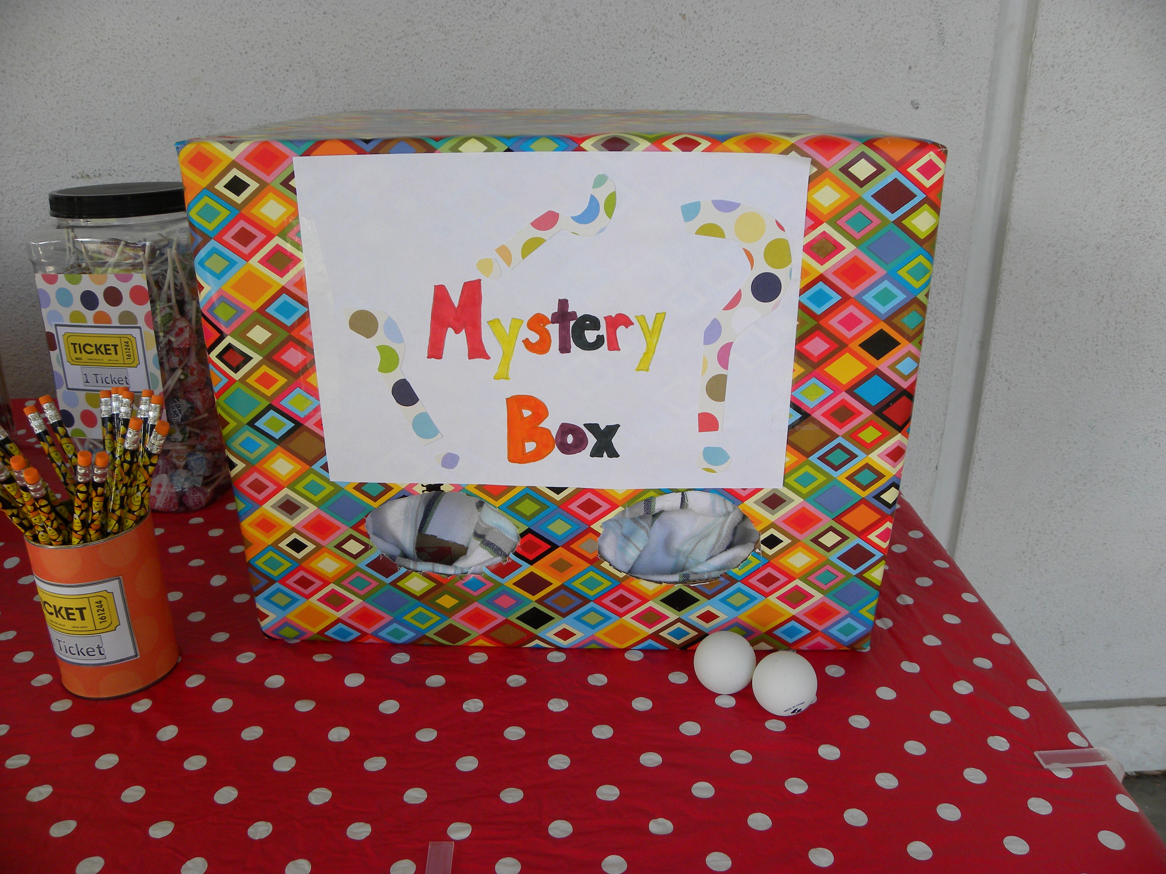What's inside the Mystery Box? Kids love this game! www