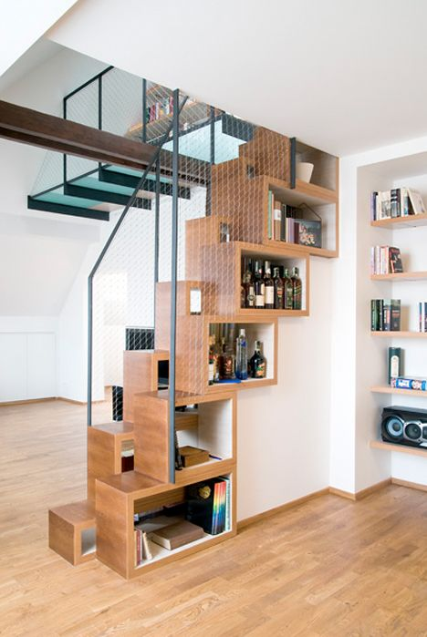 Ordinaire Steps To Saving Space: 15 Compact Stair Designs For Lofts