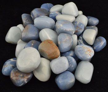 Angelite. https://www.etsy.com/listing/229879826/angelite-tumbled-stones-energy-healing #angelite #crystalhealing