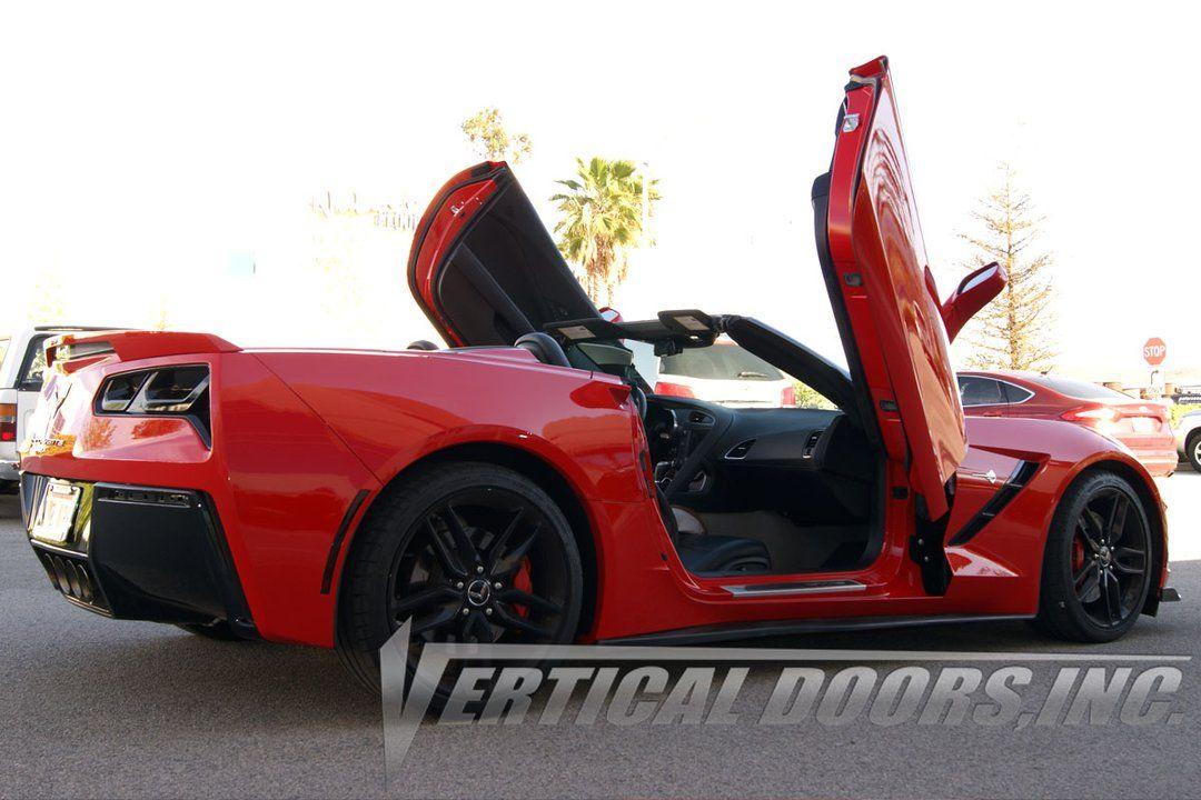 Chevrolet Corvette C 7 2014 2016 Vertical Doors In 2020 Chevrolet Corvette Corvette Chevrolet