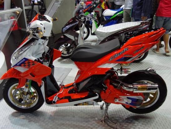 Modifikasi Honda Vario 150 Touring Kontes Honda