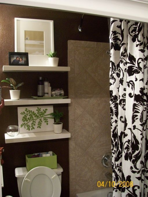 Modern bathroom designed by Serena Monjeau Walkes, featured on Rate My Space.