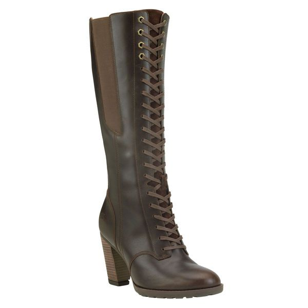 9527716dbbc Timberland - Women s Stratham Heights Tall Lace Waterproof Boot ...