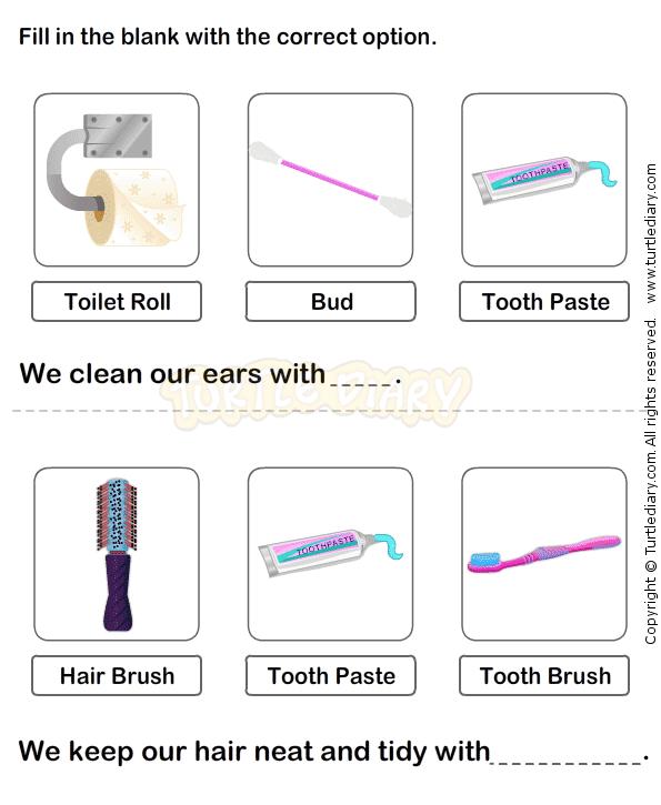 Personal Hygiene Worksheet 13 - science Worksheets - grade-2 ...