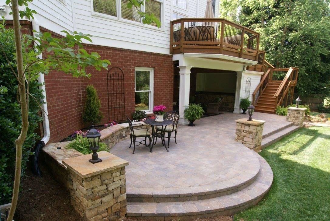 Stone U0026 Paver Patios | Atlanta Porch U0026 Patio