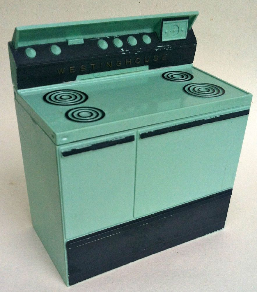 Retro! ~ Westinghouse Stove Recipe Box ~ aqua in color | kitchen ...