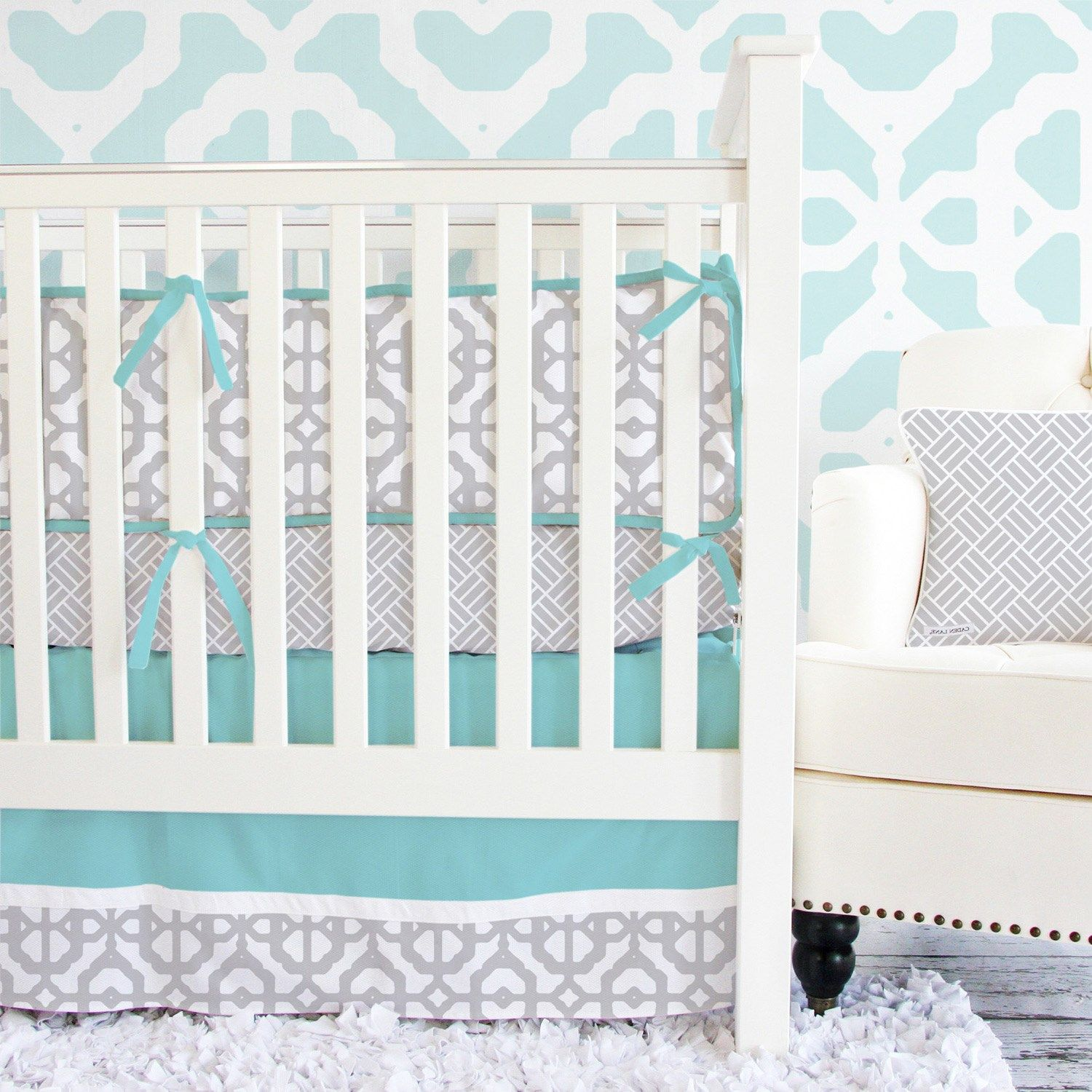 Turquoise Nursery Decor