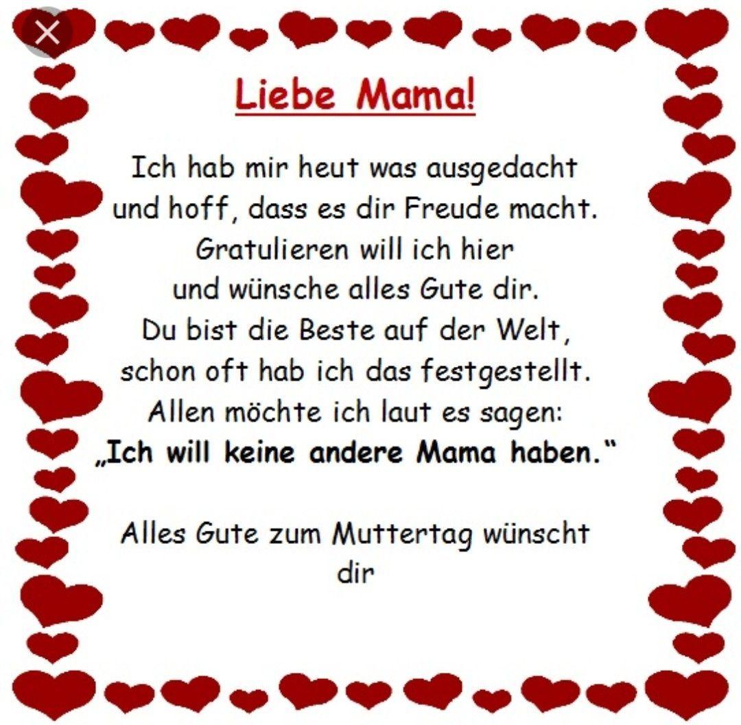 Gedichte Zum Muttertag Gedichte Zum Muttertag Diy