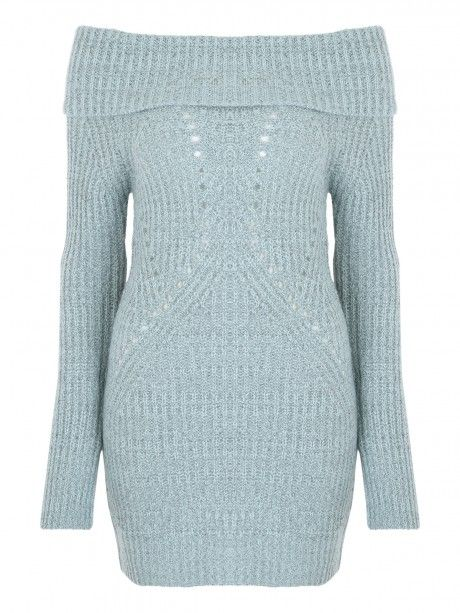 Layer up in an on trend jumper. This light blue jumper is