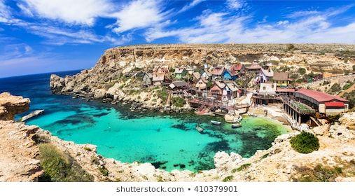 famous Popeye village in Malta | Malta, Countries of the ...