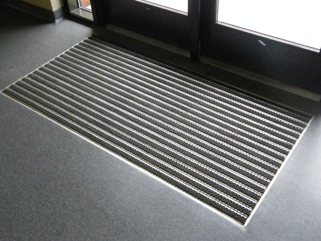 Front Foyer Mat : Aluminum roll up mats refurbished recessed mat