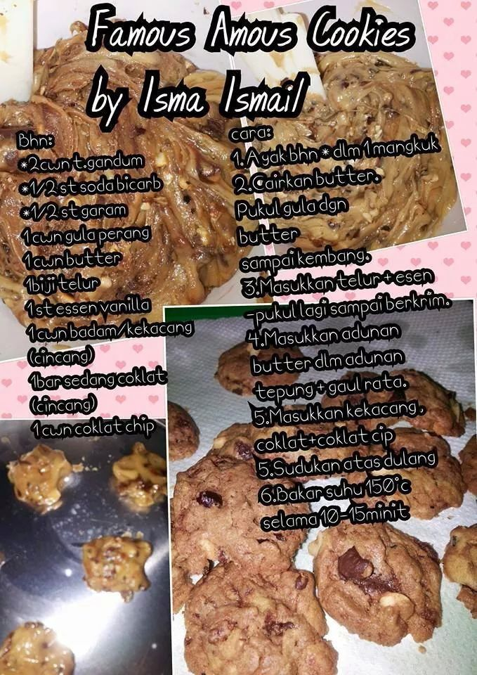 Famous Amos Cookies Cookie Recipes Famous Amos Cookies Biscuit Recipe