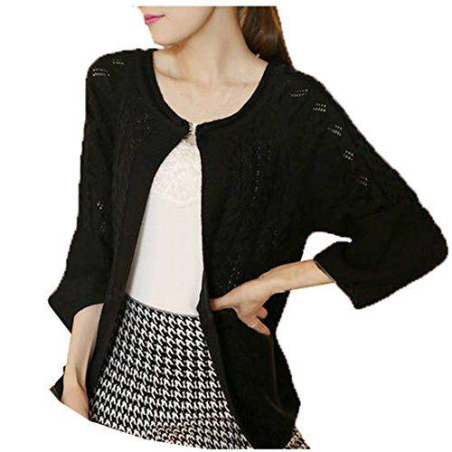 Partiss Damen Locker Twist-Muster Strickjacke Pullover Outerwear mit Grossen Aermel(46,Black) Partiss http://www.amazon.de/dp/B00MWNCB2S/ref=cm_sw_r_pi_dp_IR.4vb13CTMY1