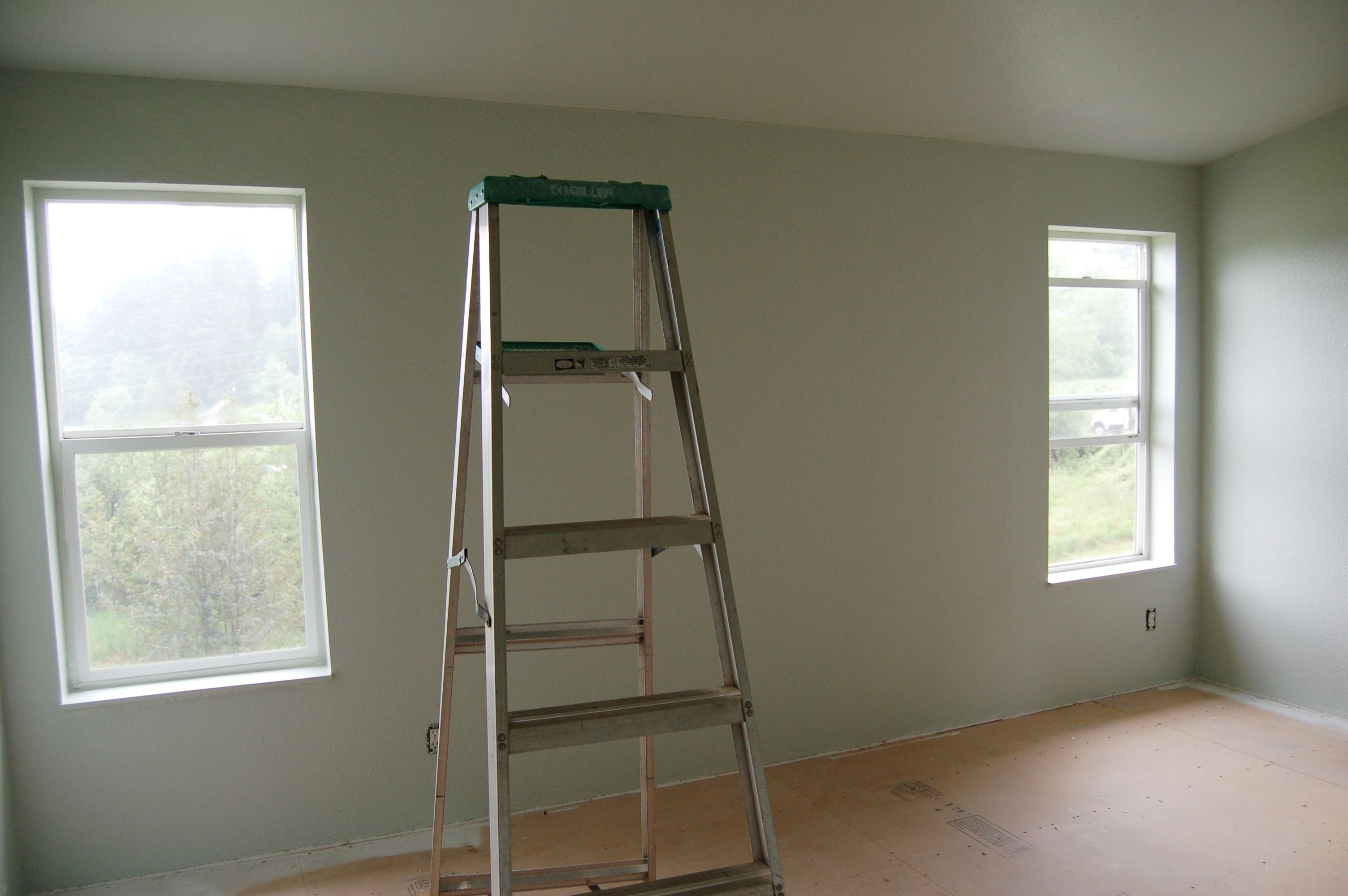 New In The Bedroom Sherwin Williams Filmy Green A New Color In The Bedroom