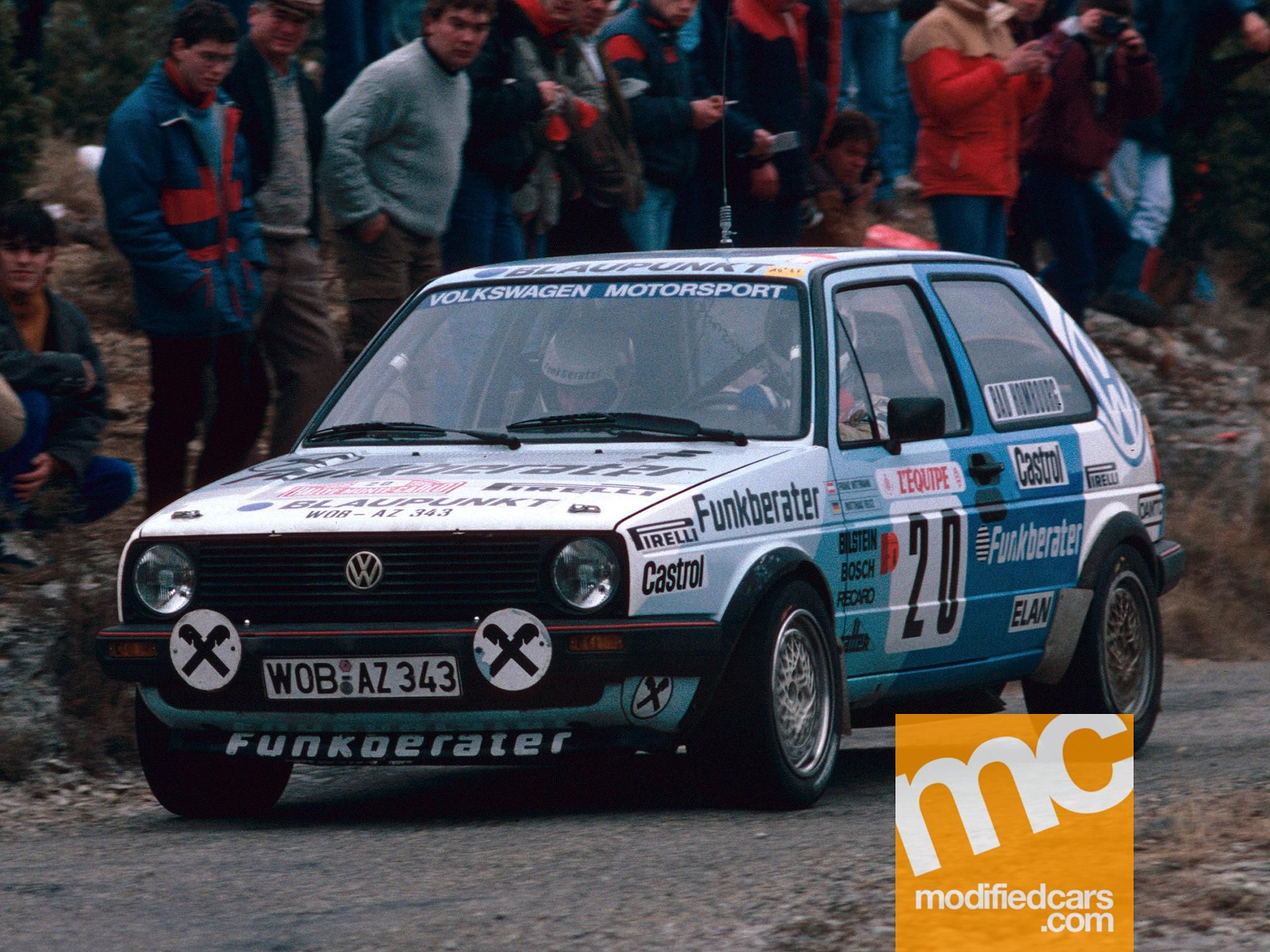 Volkswagen Golf Mk2 GTi Rally Car | Classic Cars | Pinterest ...