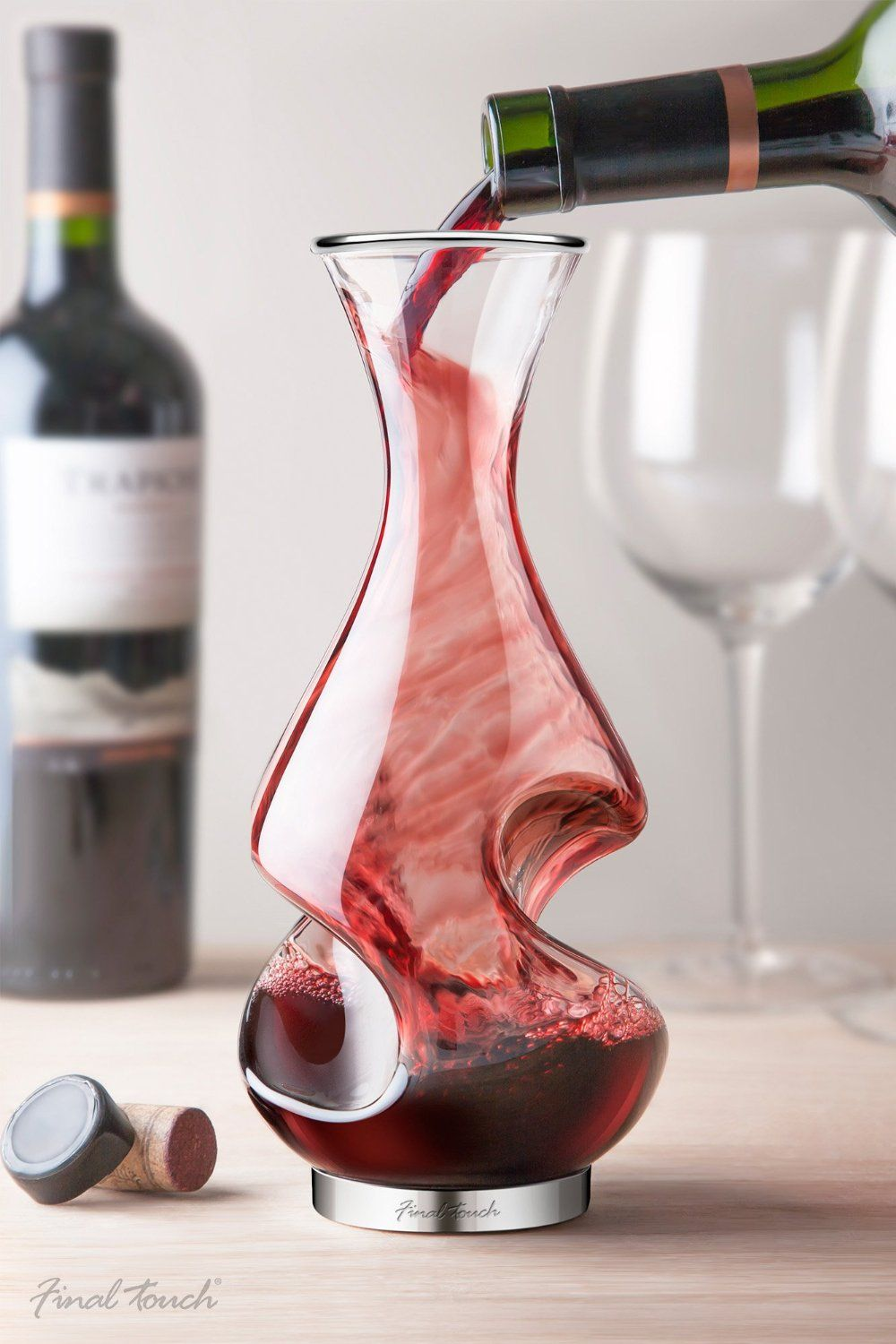 The Wine That Has All The Curves Wine Decanter Wine Aerators Wine Preserver
