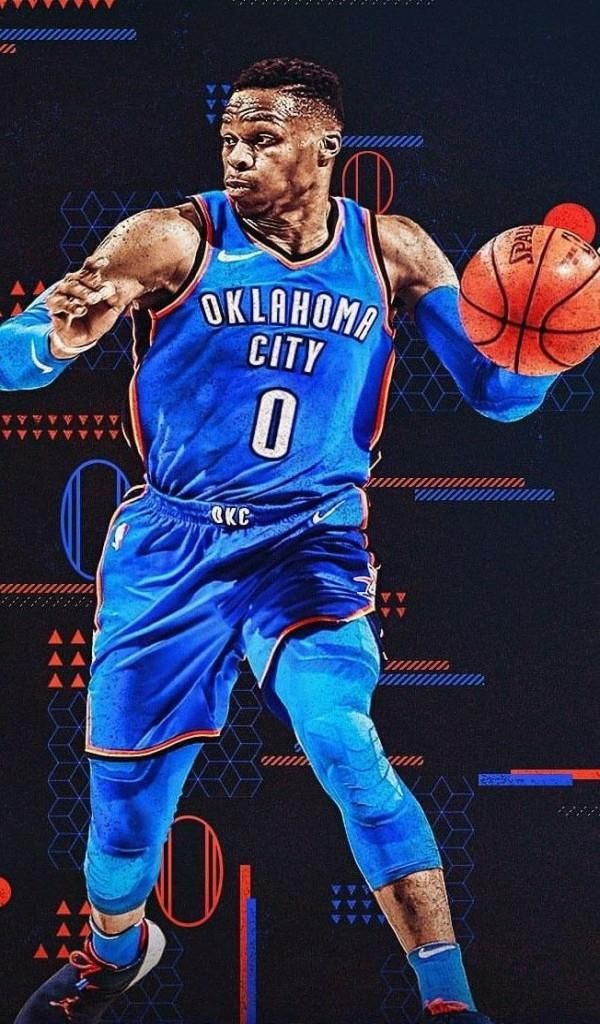 Russell Westbrook Wallpaper panosundaki Pin