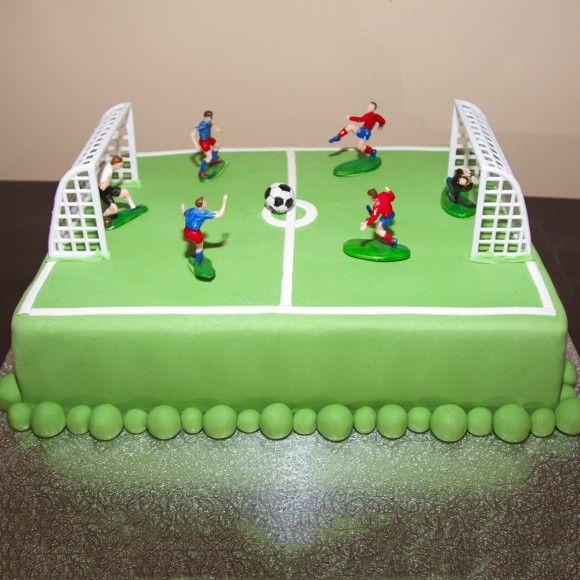 Fantastic Archies Football Pitch Birthday Cake Soccer Cake Soccer Funny Birthday Cards Online Aboleapandamsfinfo
