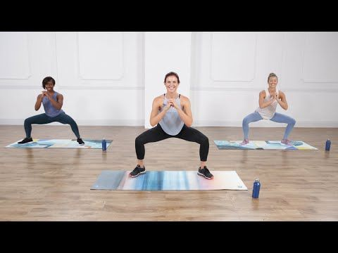 30-Minute Strength, Cardio, and Pilates Core Workout - YouTube #pilatesworkoutvideos