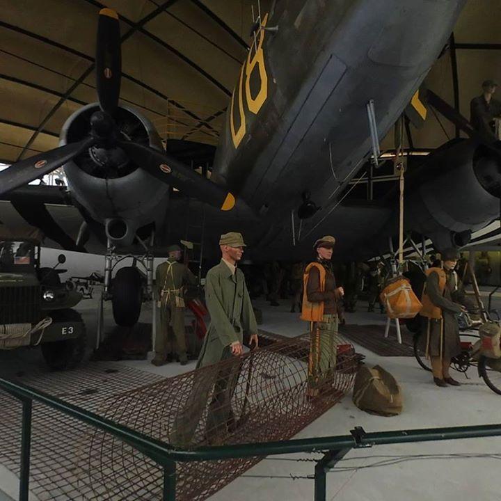 Airborne Museum Sainte-Mère-Église Normandy France.