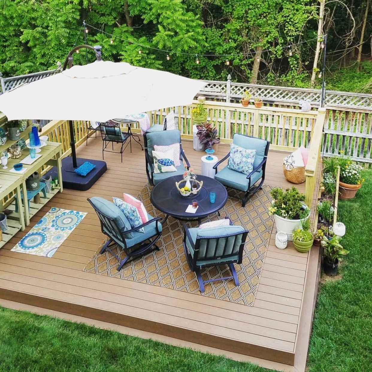 Floating Deck Design Ideas Floating Deck Decks Backyard Deck Decorating