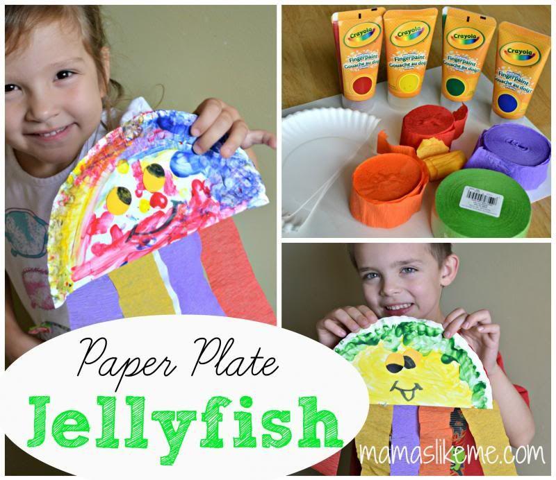 Mamas Like Me: Paper Plate Jellyfish
