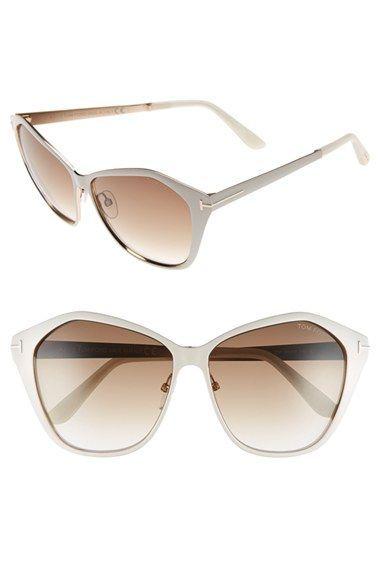 390c5915596f Tom Ford  Lena  58mm Sunglasses Nordstrom