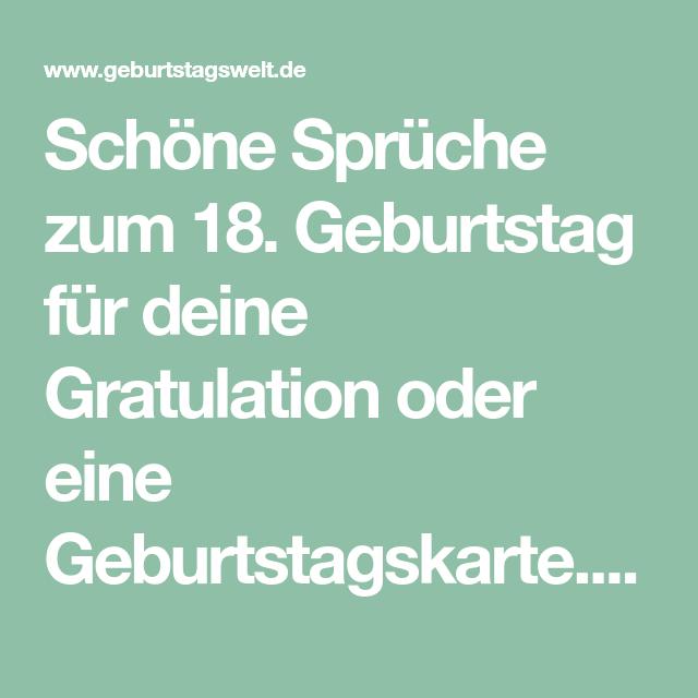 L Spruche Zum 18 Geburtstag Gluckwunsche Gedichte Zur Volljahrigkeit Gluckwunsche Zur Volljahrigkeit Gluckwunsche Zum 30 18 Geburtstag Spruch