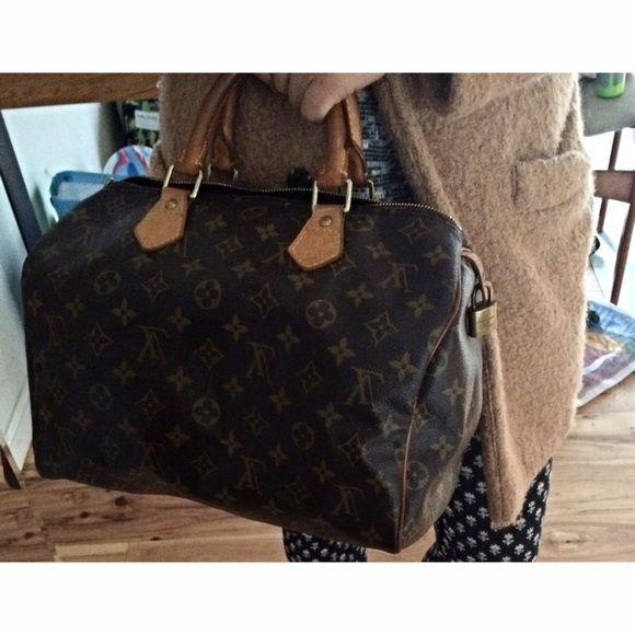 Extra Pics of Louis Vuitton Speedy 30 More pictures Louis Vuitton Bags Satchels