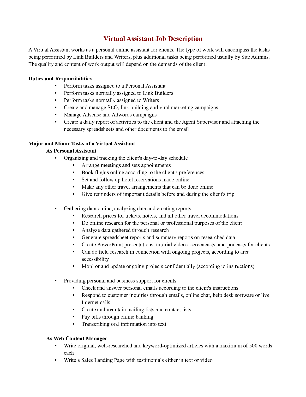 Pay Get Resume Made Sales Assistant Roles Cover Letter Retail