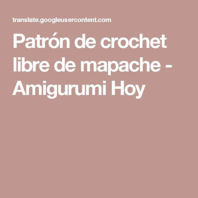 Excepcional Patrón De Crochet Libre Ornamento - Ideas de Patrones de ...