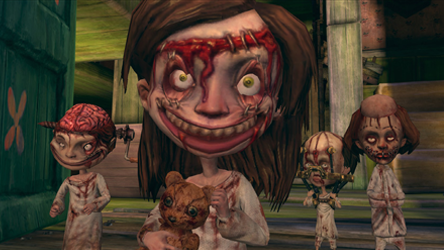 Alice Madness Returns ... (another one of my favorite parts in the game.  I love these kids.)