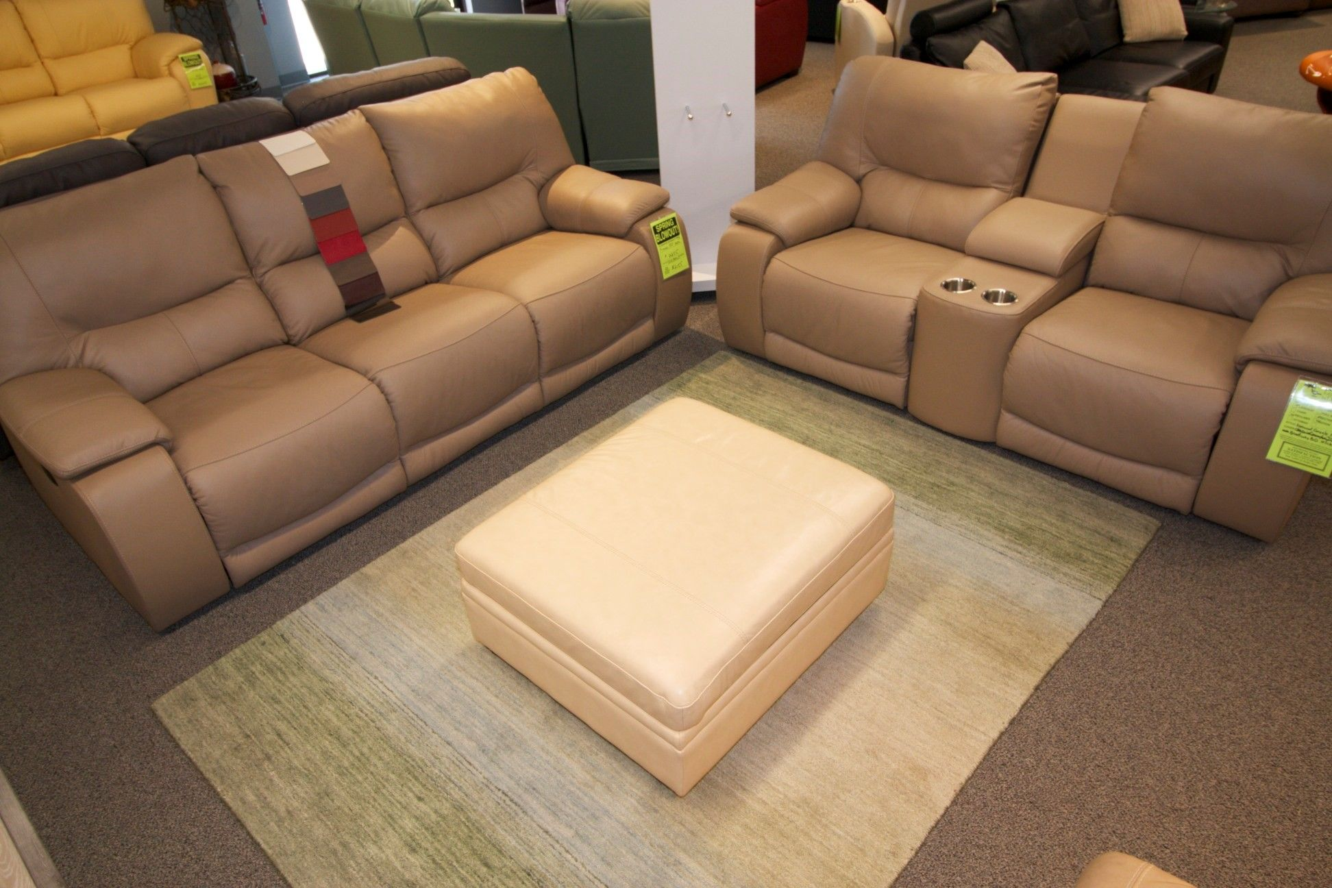 The Norwood power reclining sofa and console love by Palliser