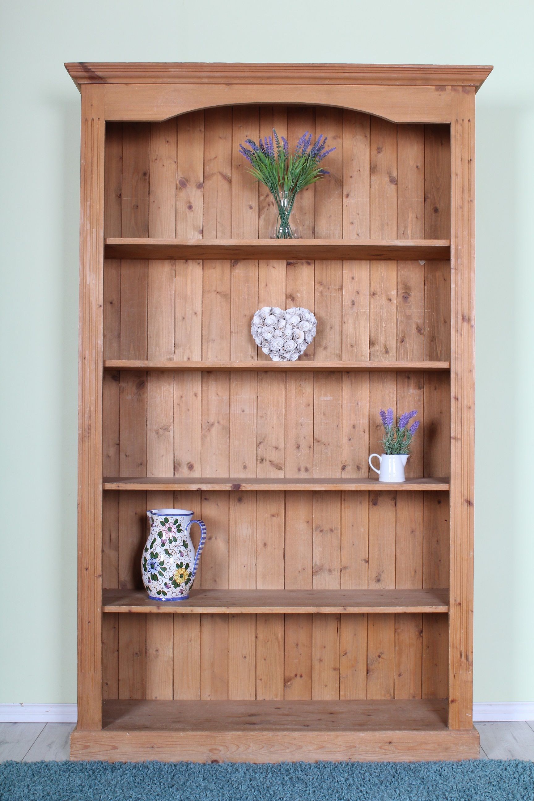 Large Pine Bookcase 4 Ft Wide 185 More Bookcases To See On The