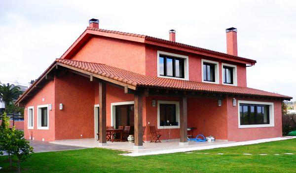 fachadas de casas rusticas Buscar con Google Case rosse