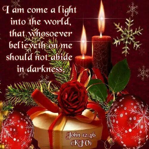 John 12:46 KJV