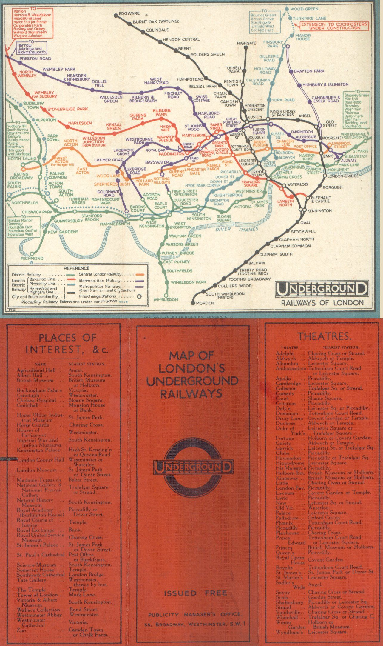 1932 Tube Map Before Beck   Metro identity   Pinterest   Underground     1932 Tube Map Before Beck