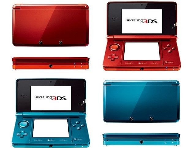 original nintendo ds red system