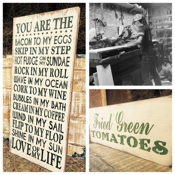 Love Of My Life Wood SignPun SignAnniversary GiftBedroom DecorSigns