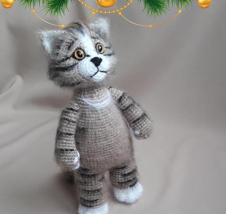 Cat teddy Cuddly toy Cute fluffy kittens Stuffed cat