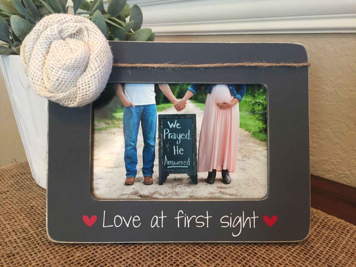 Love at first sight picture frame parents to be baby announcement love at first sight picture frame parents to be baby announcement picture frame ultrasound picture frame jeuxipadfo Images