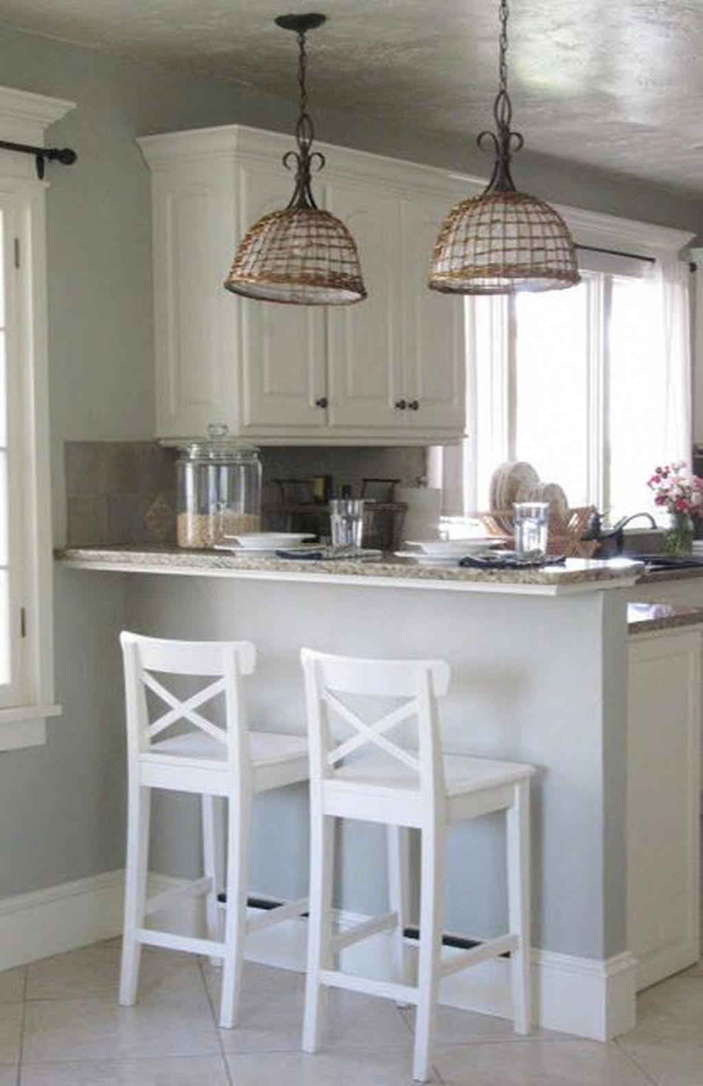 49 elegant small kitchen ideas remodel köksinredning drömkök inredning on kitchen remodel ideas id=35427