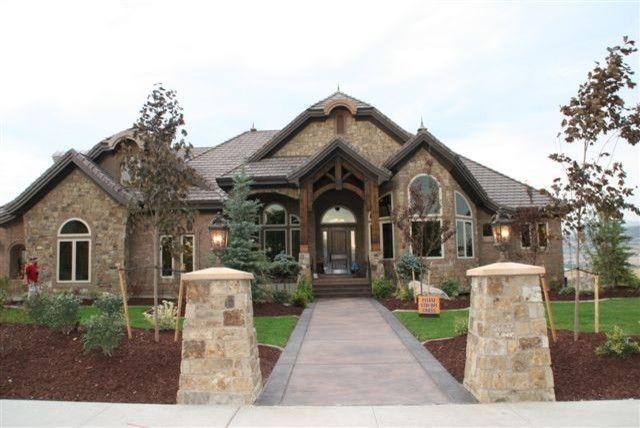 Exterior Stone Work brick and stone exterior jlssqyy jlssqyy | house exteriors